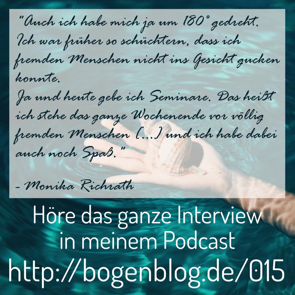 Interview mit Monika Richrath - Klopfakupressur und Hochsensibilität