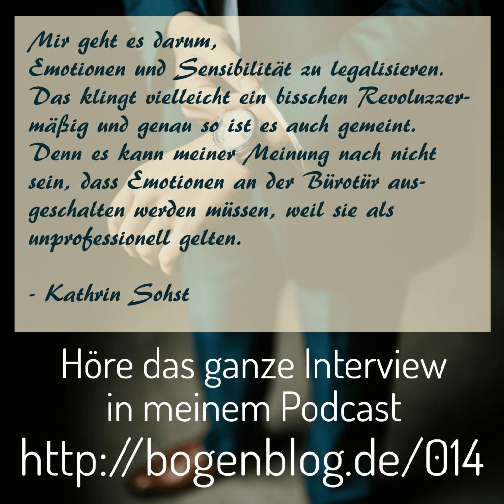 EHSP 014 - Interview mit Kathrin Sohst