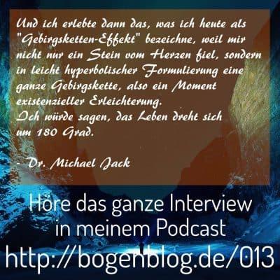 [EHSP 013] Interview mit Dr. Michael Jack: Wissenschaft, Männlichkeit und Hochsensibilität