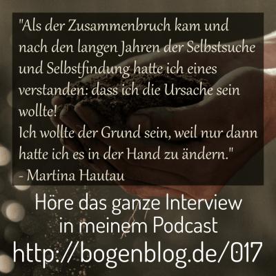 [EHSP 017] Interview mit Martina Hautau – Lebensaufgabe und Hochsensibilität