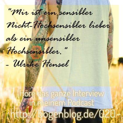[EHSP 020] Coaching für hochsensible Menschen – Interview mit Ulrike Hensel