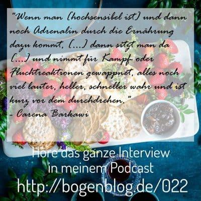 [EHSP 022] – Migräne und Hochsensibilität, ein Interview mit Carena Barkawi