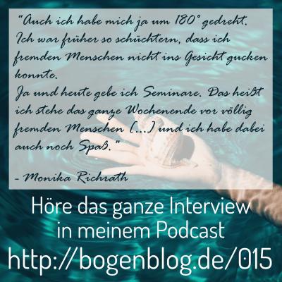 [EHSP 015] Interview mit Monika Richrath – Klopfakupressur und Hochsensibilität