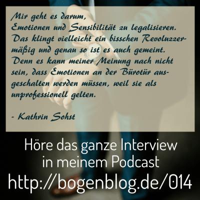 [EHSP 014] Interview mit Kathrin Sohst: Netzwerke für hochsensible Menschen