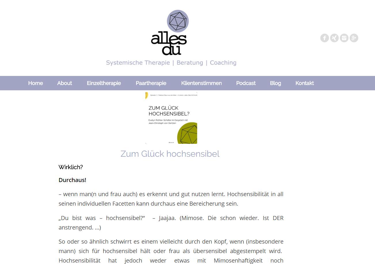 Interview mit Jean-Christoph von Oertzen von Evelyn Richter-Schäfer bei alles du