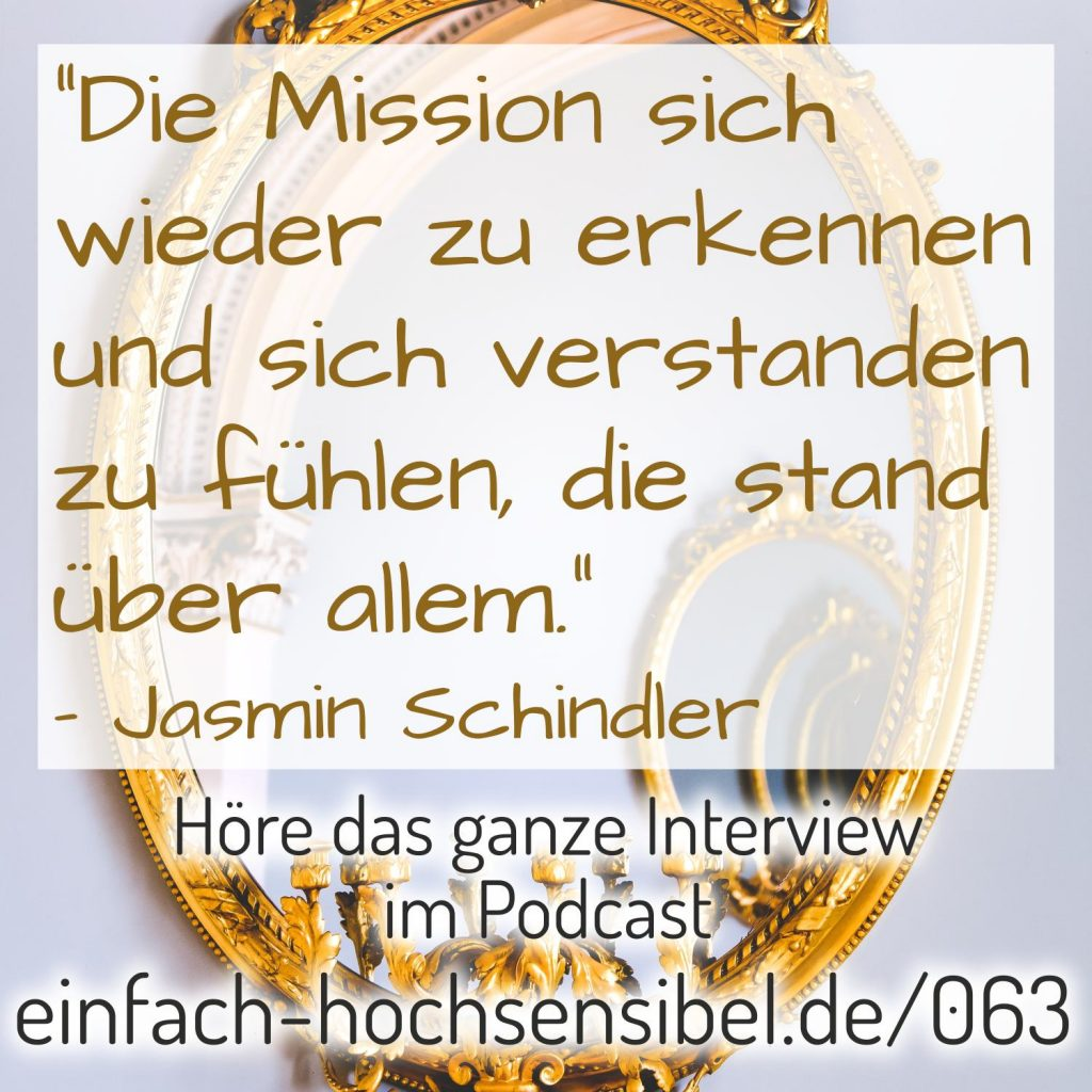 Gestatten: hochsensibel - Interview mit Jasmin Schindler von healthy habits