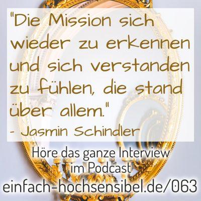 [EHSP 063] Gestatten: hochsensibel – Interview mit Jasmin Schindler von healthy habits