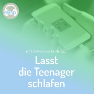 Lasst die Teenager schlafen